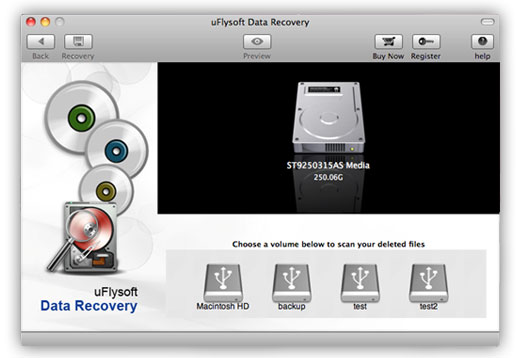 Install uMacsoft Data Recovery